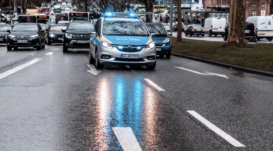 Polizeiauto Strafverfahren